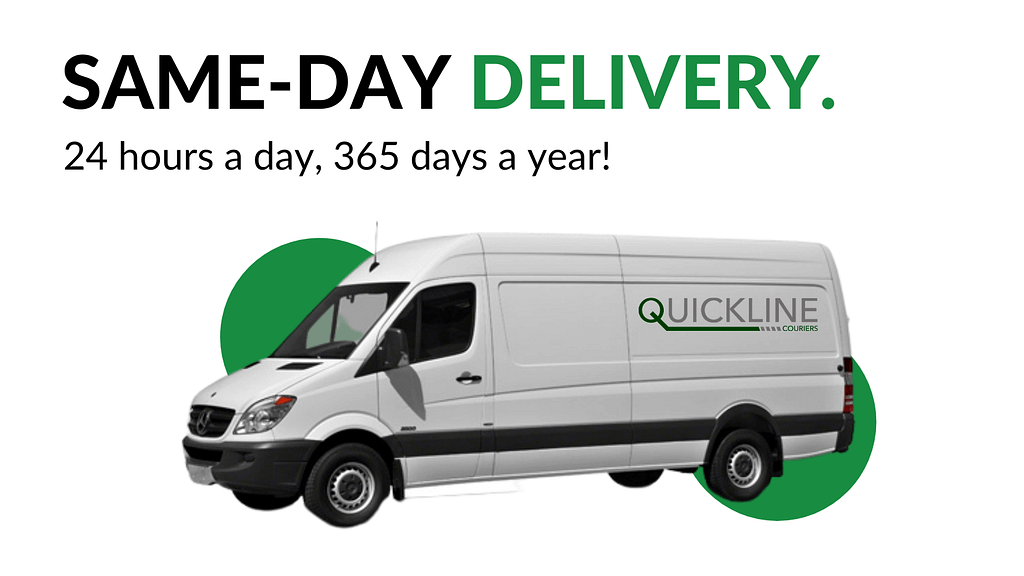 Same-day Delivery and courier service across Manchester, Liverpool, the UK and Europe from Quickline Couriers!