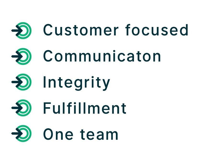 quickline courier values