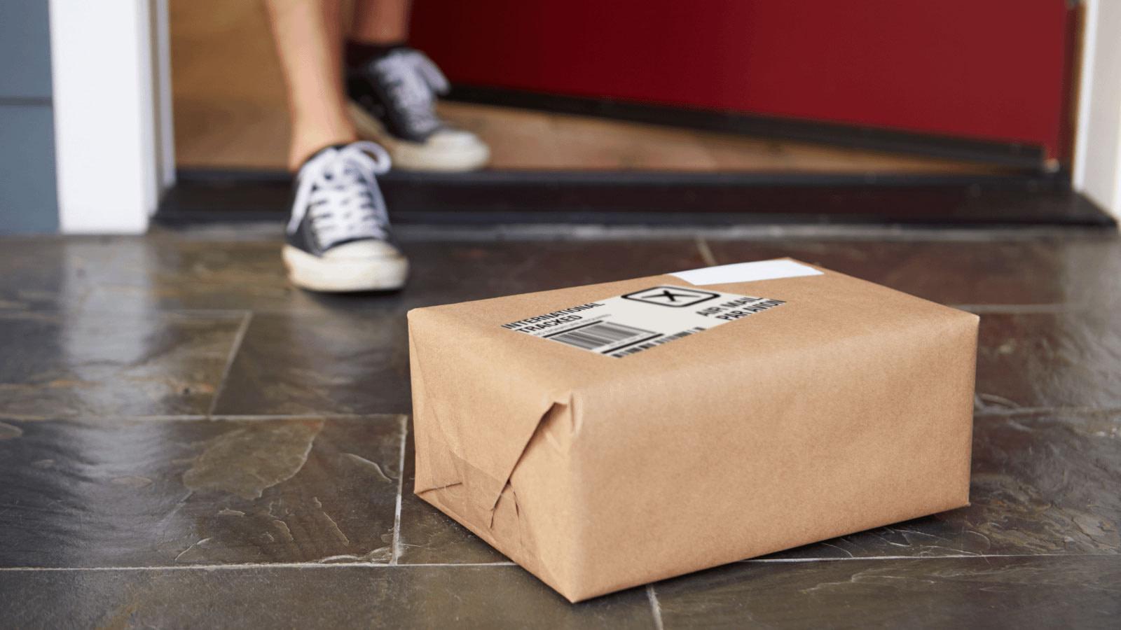 pick up my parcels